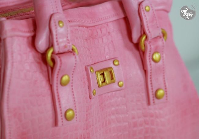 designer bag cake5