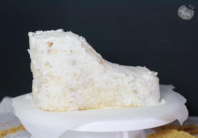 sneakers cake