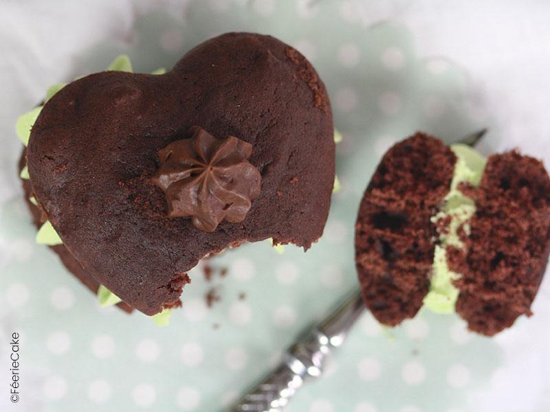 Recette des whoopies au chocolat et à la pistache