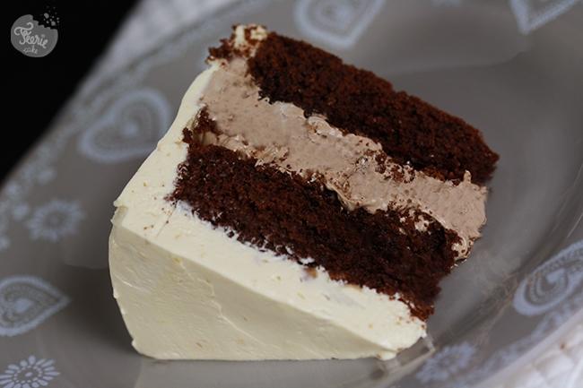 Cake avec insert chocolat