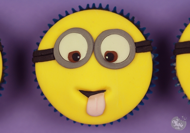 cupcakes Minions lunettes