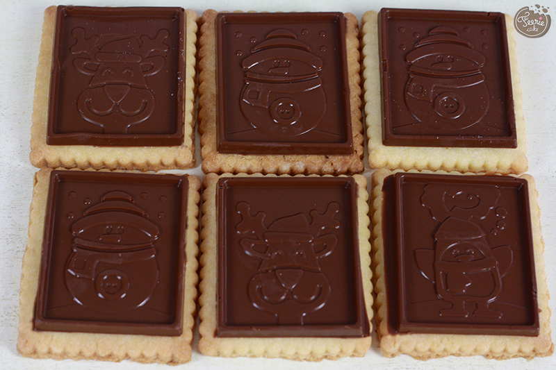 Les biscuits au chocolat du goûter