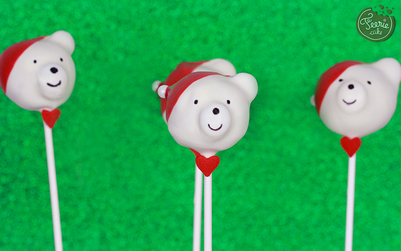 cake pops polar bear4