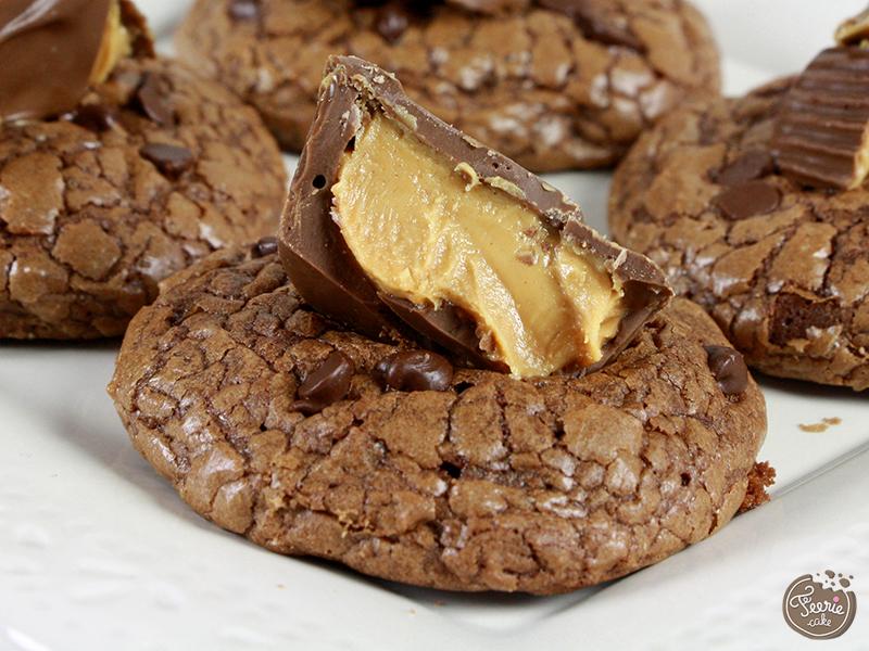 cookies chocolat et peanut butter cups2