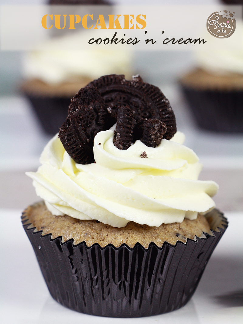 Cupcakes Cookies and Cream