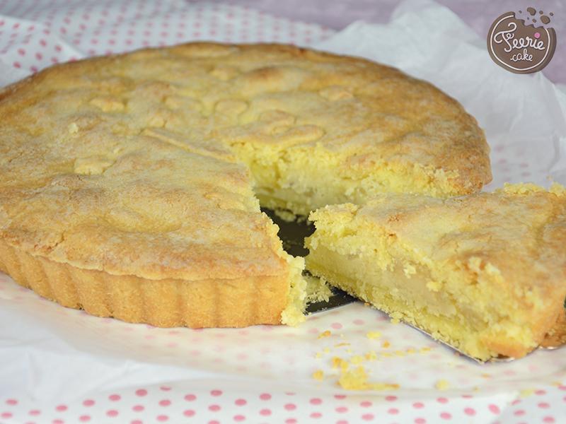 Sponge Cake Aux Poires