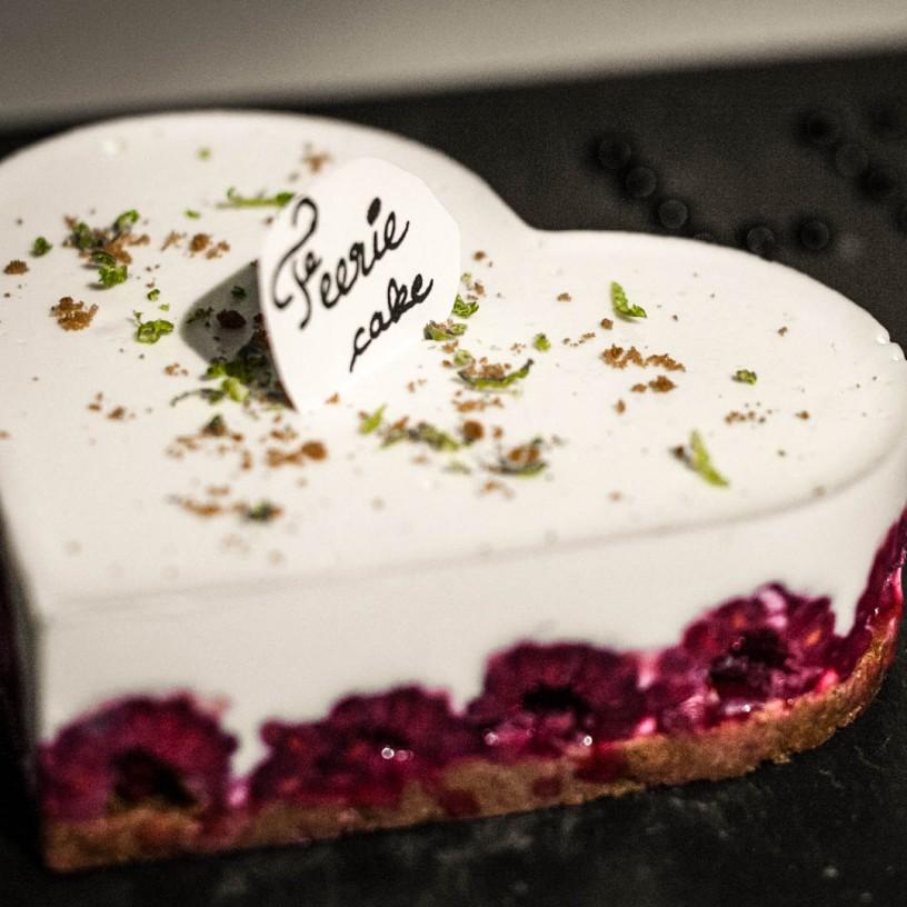 Bastien M gâteau Saint Valentin