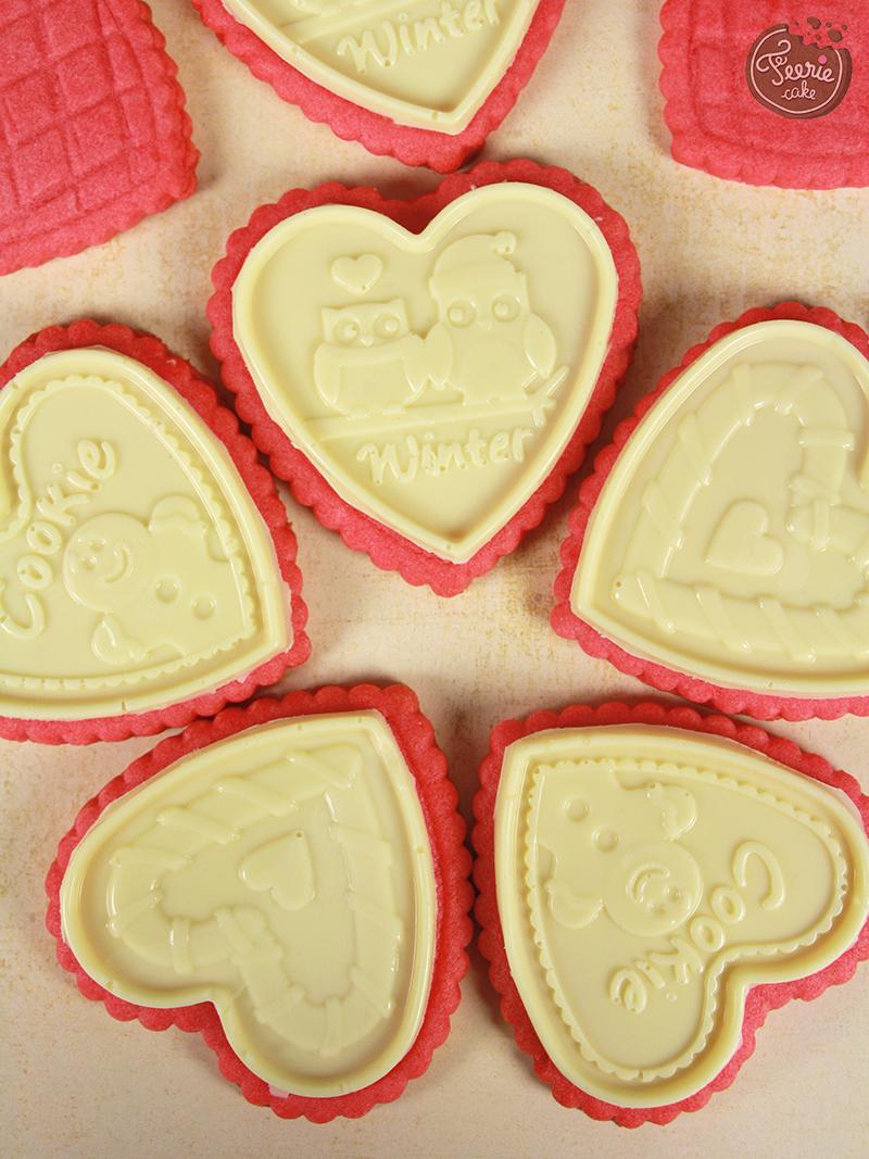 Cookie choc st valentin