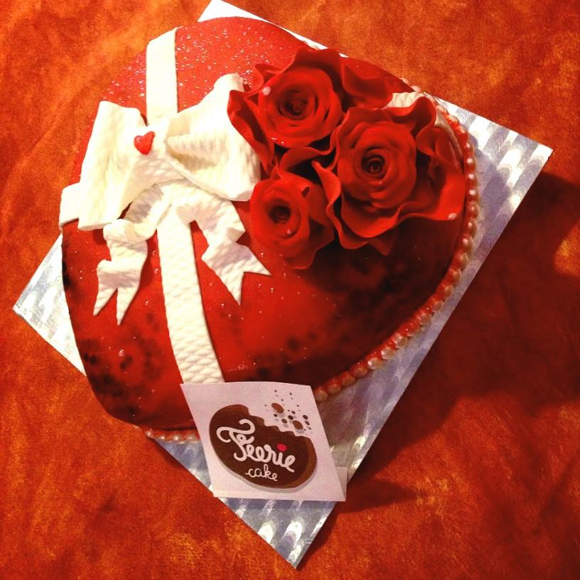 Luciano gâteau saint valentin