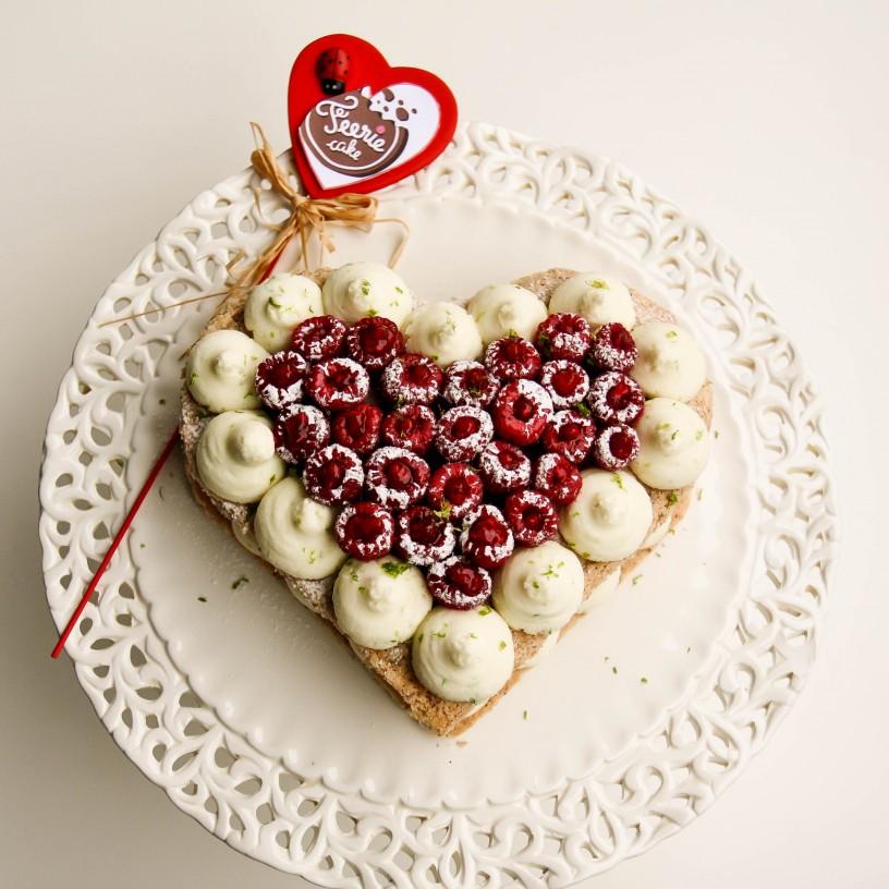 Olivier gâteau saint valentin