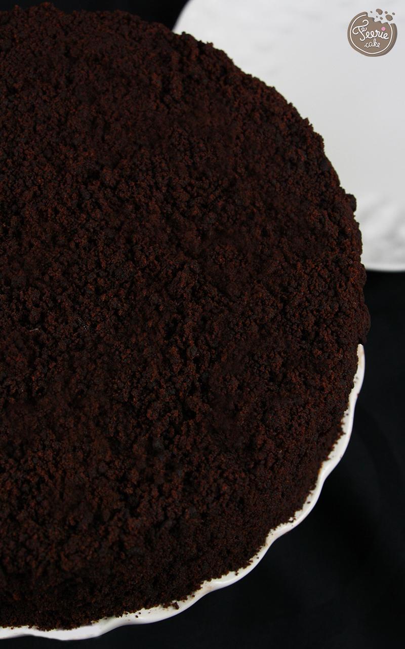 gateau chocolat et ganache praline2