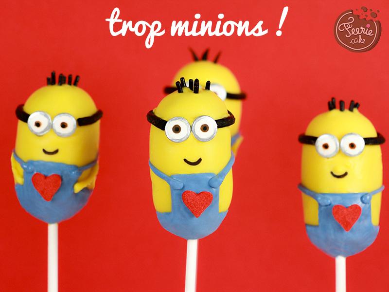 Cake pops Minions