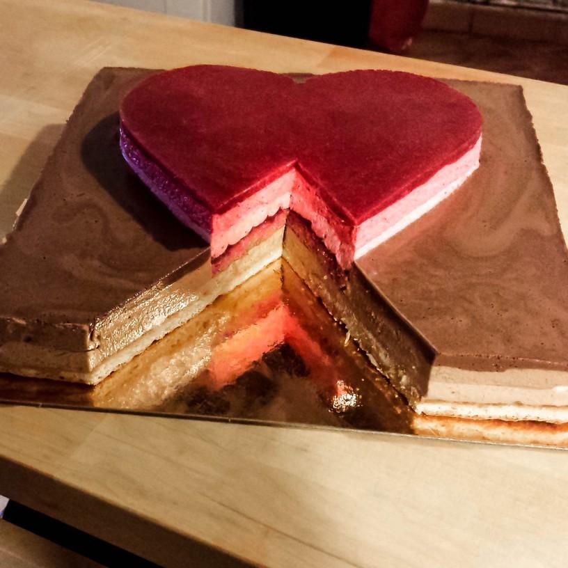 nicolas B gâteau saint valentin
