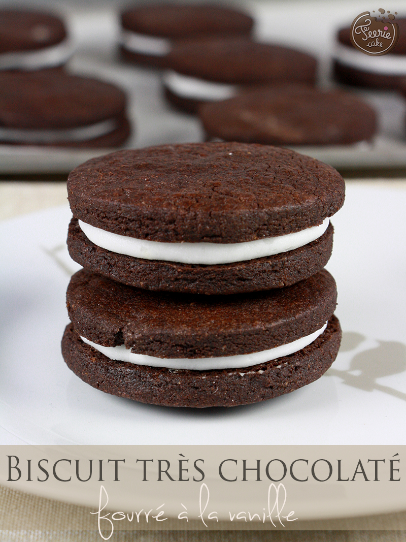 Biscuits au chocolat comme des O...