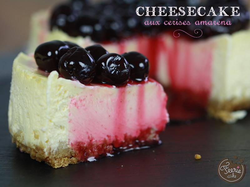 Cheesecake aux cerises amarena