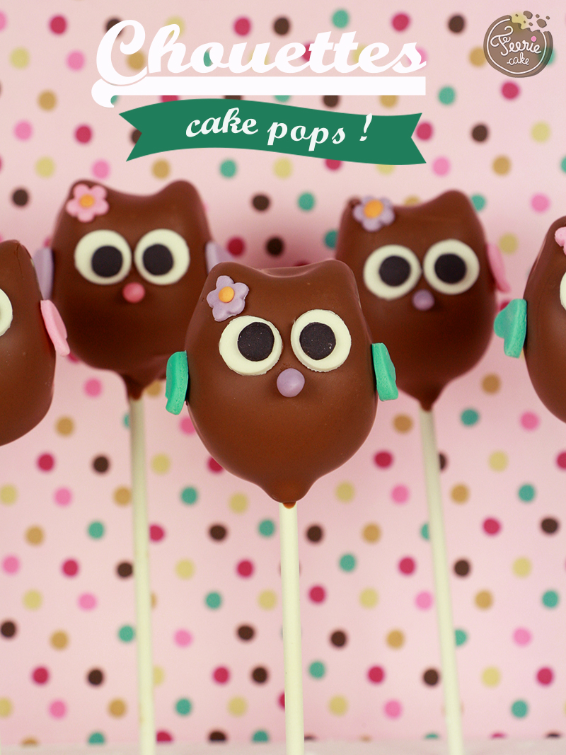 cake pops chouettes  2
