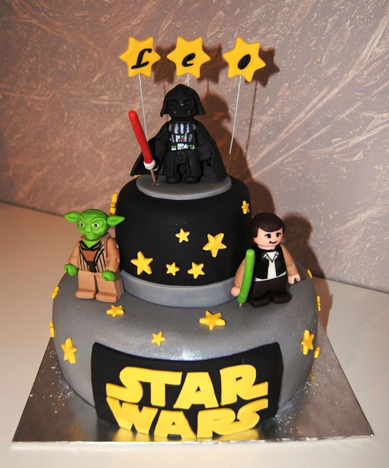 Modele gateau star wars