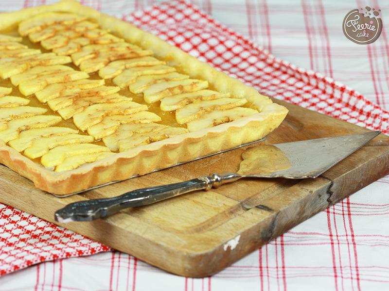 La tarte aux pommes à tomber