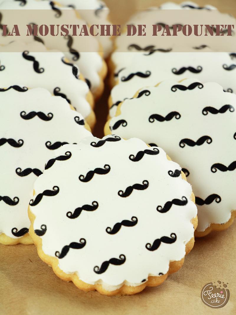 Les biscuits décorés pour la fête des papas