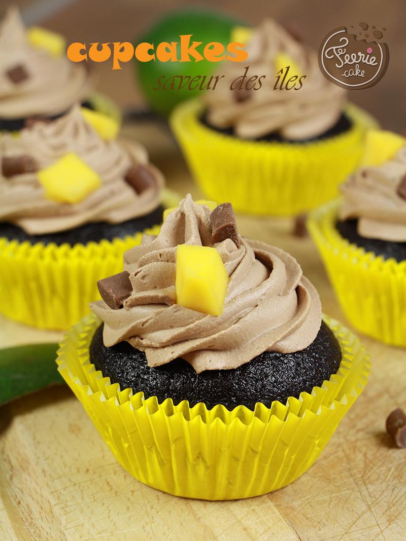 "Cupcake ""saveur des îles"""