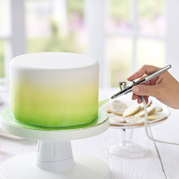 Dompter l'aérographe (airbrush) - Féerie cake