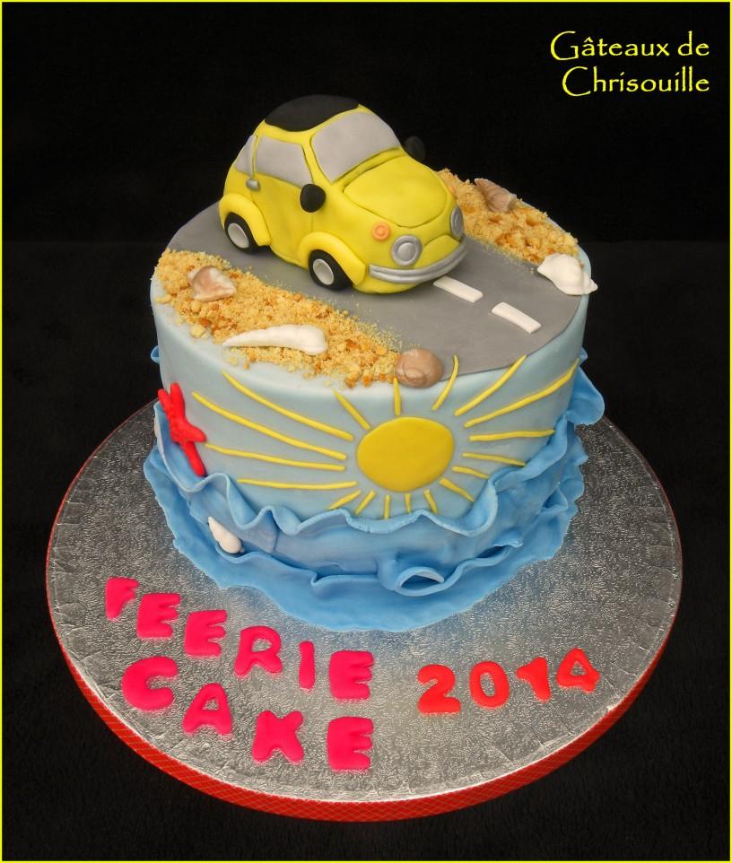 feerie cake fiat 500