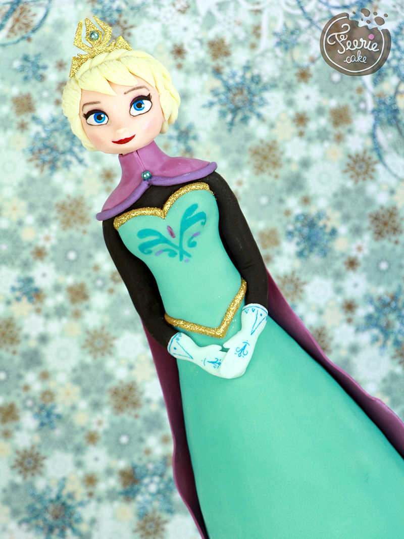 Tutoriel : Le couronnement d'Elsa