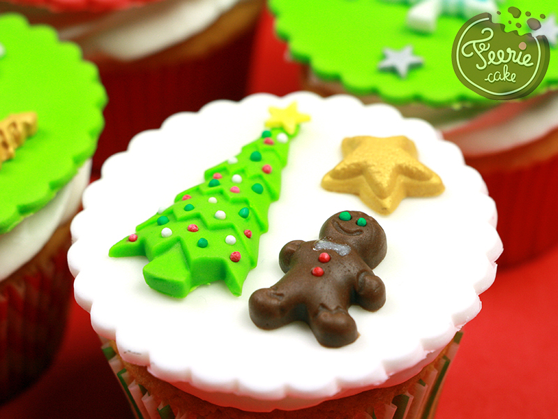 Cupcakes Noël epices