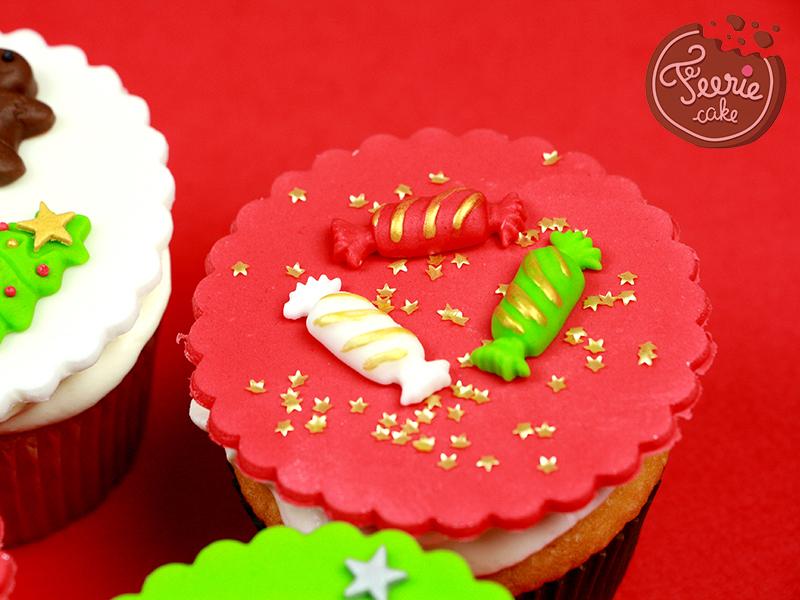 Cupcakes Noël chocolat