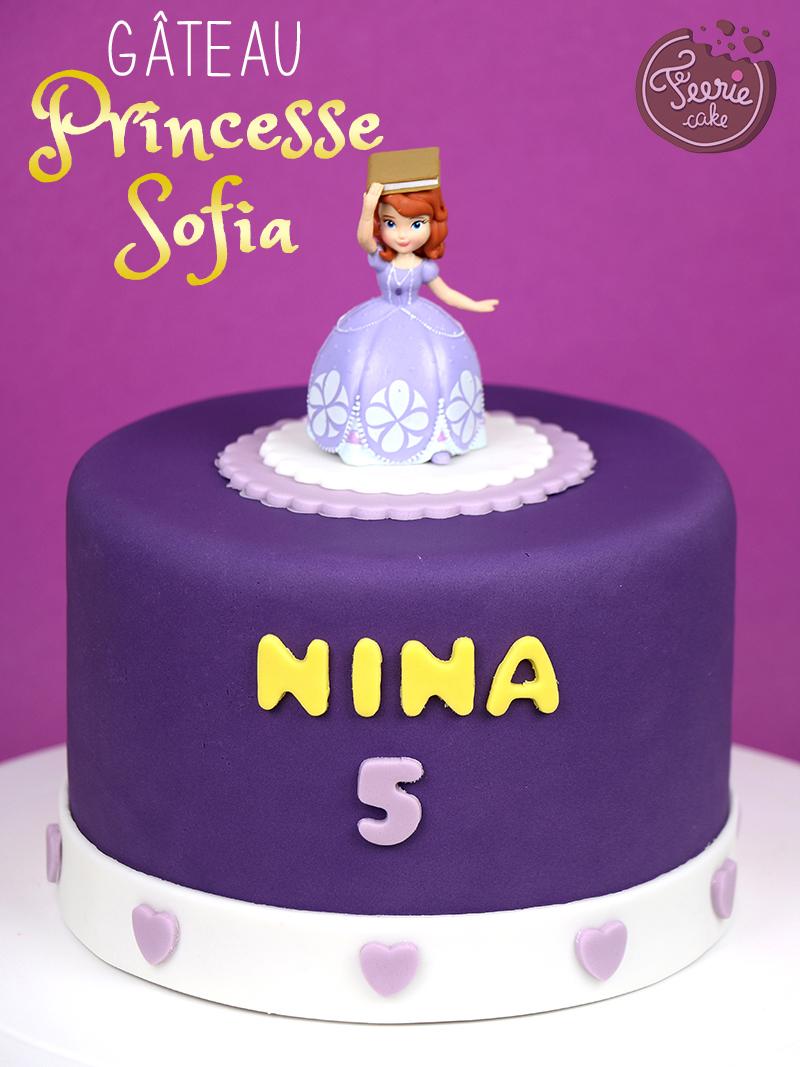 """Gâteau """"Princesse Sofia"""""""