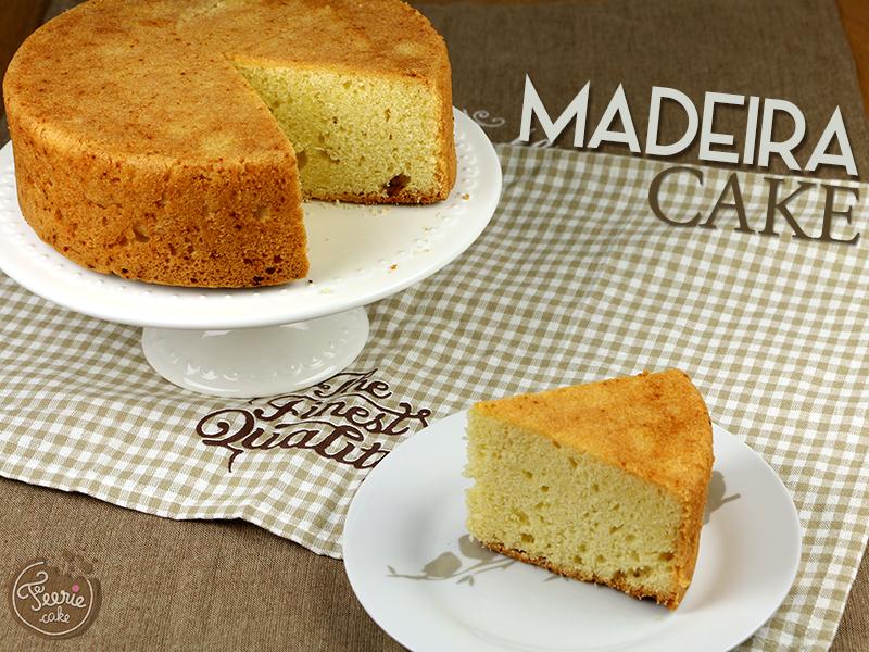 madeira cake - féerie cake