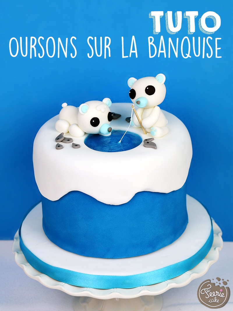 Tutoriel oursons sur la banquise f erie cake - Photo ours blanc sur la banquise ...