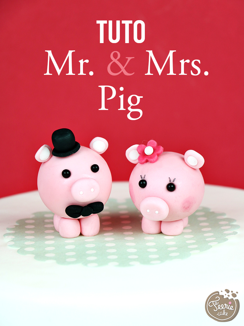 "Tutoriel ""Mr & Mrs Pig"""