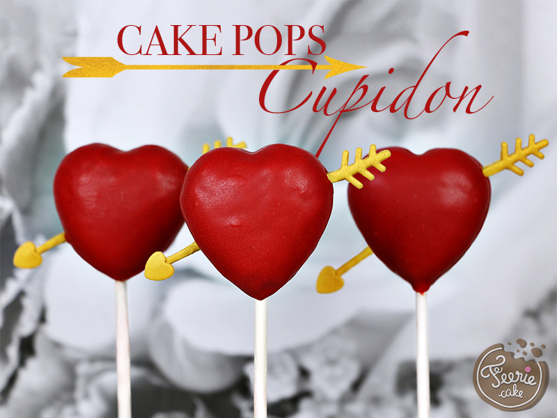 "Cake pops ""cupidon"""