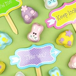 """Petits gâteaux """"Bunny de Pâques"""""""