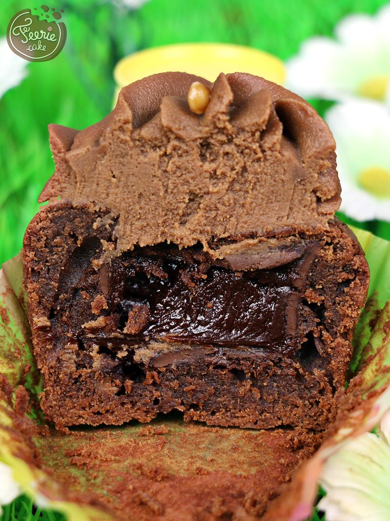 Cupcakes chocolat-caramel paques 4