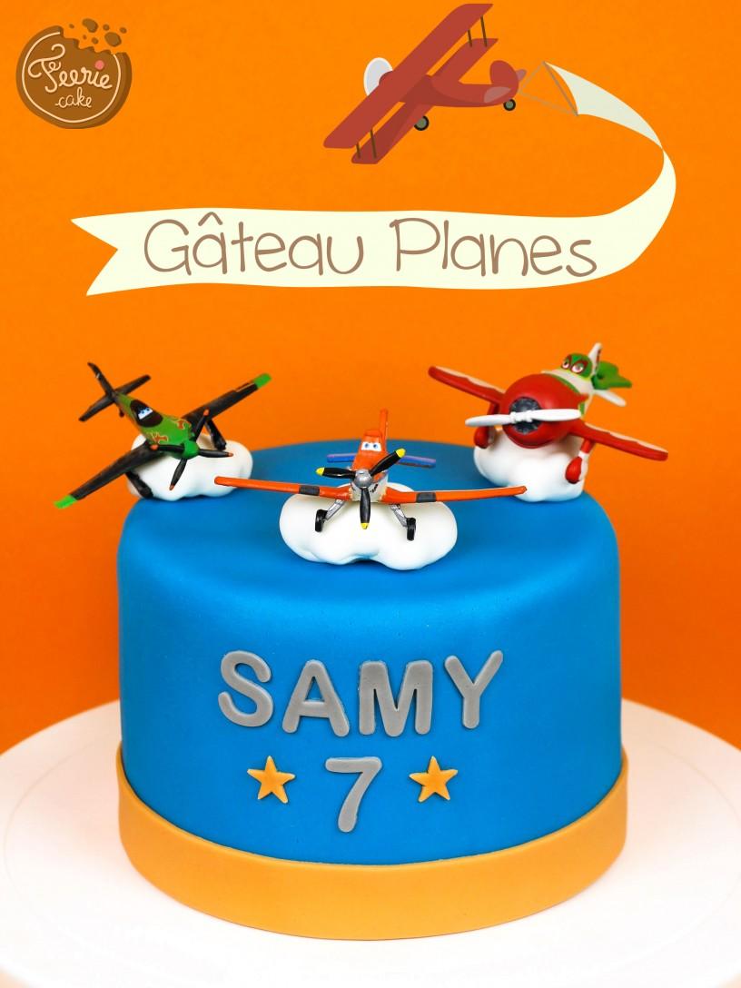 """Gâteau """"Planes"""""""