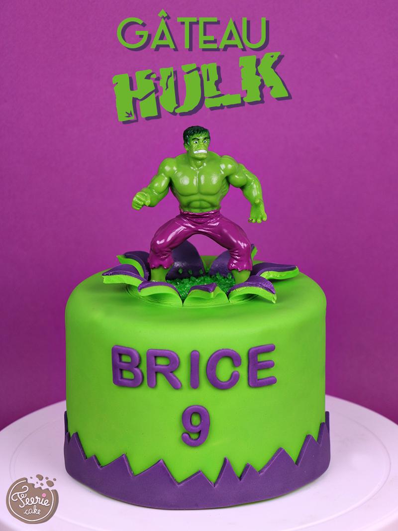 Gâteau «Hulk»
