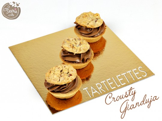 Tartelettes Crousty Gianduja