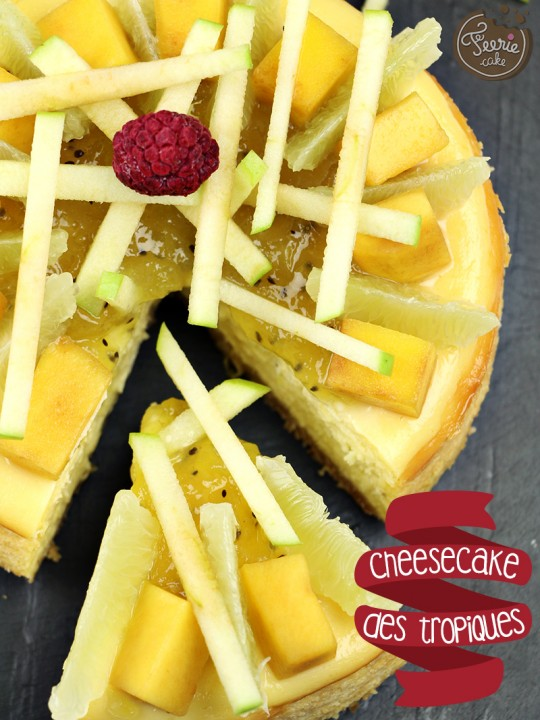 Cheesecake des tropiques