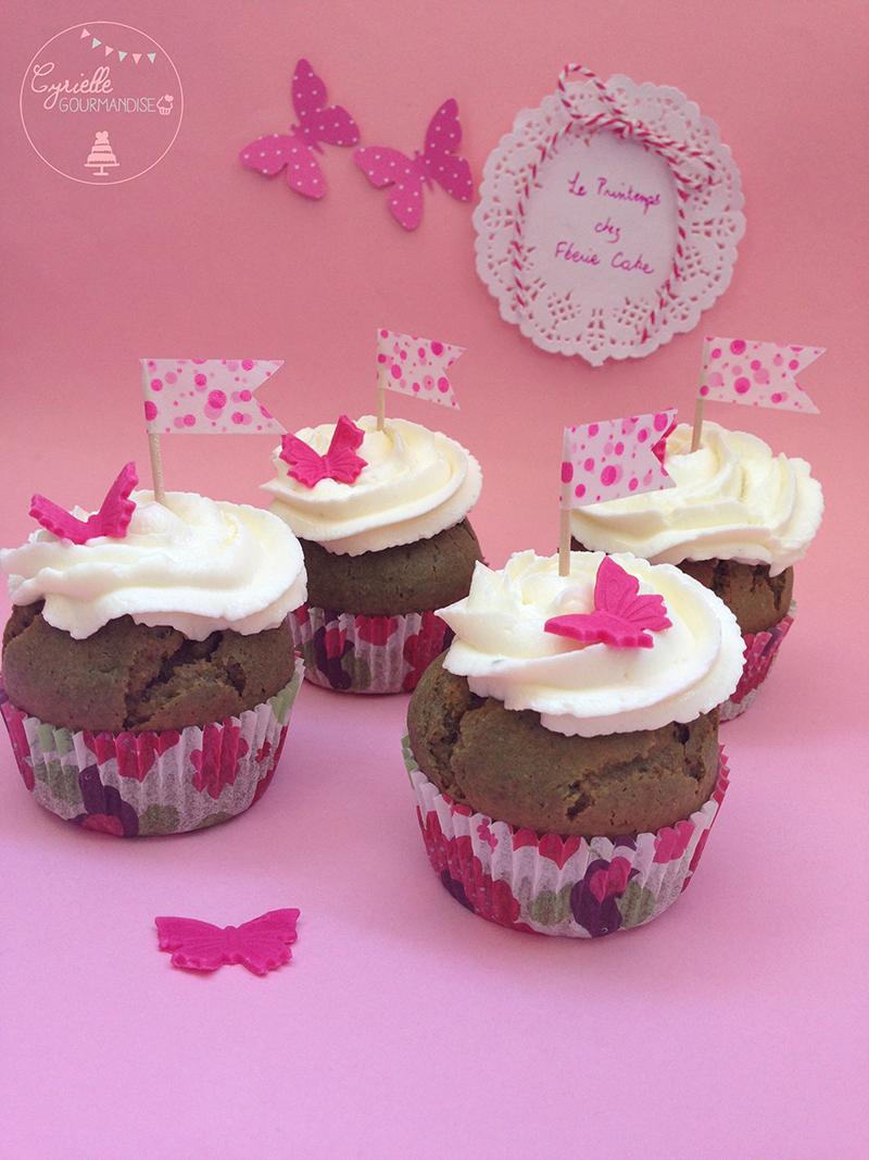 Cupcakes spiruline Cyrielle 2