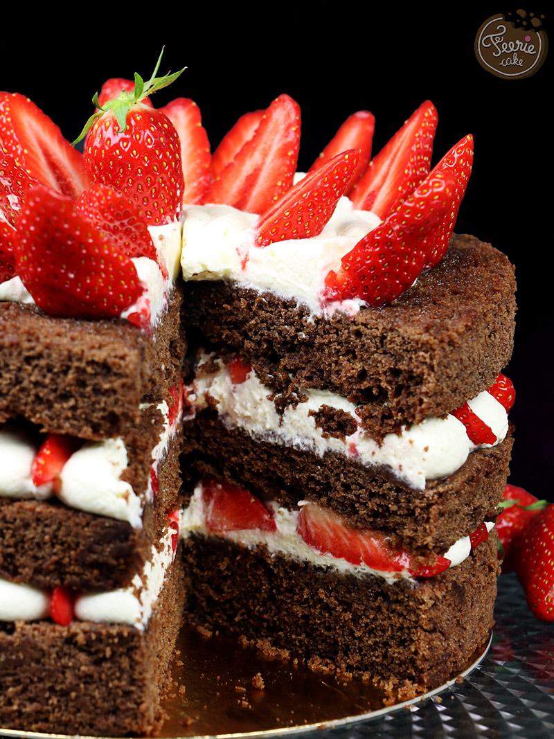 Recette Layer Cake Chocolat Mascarpone
