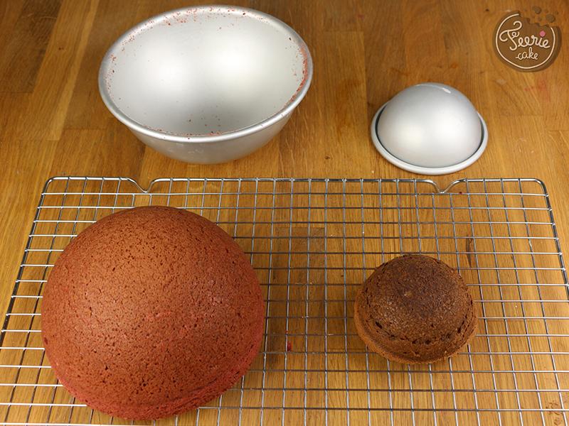 tutoriel g teau coccinelle f erie cake. Black Bedroom Furniture Sets. Home Design Ideas