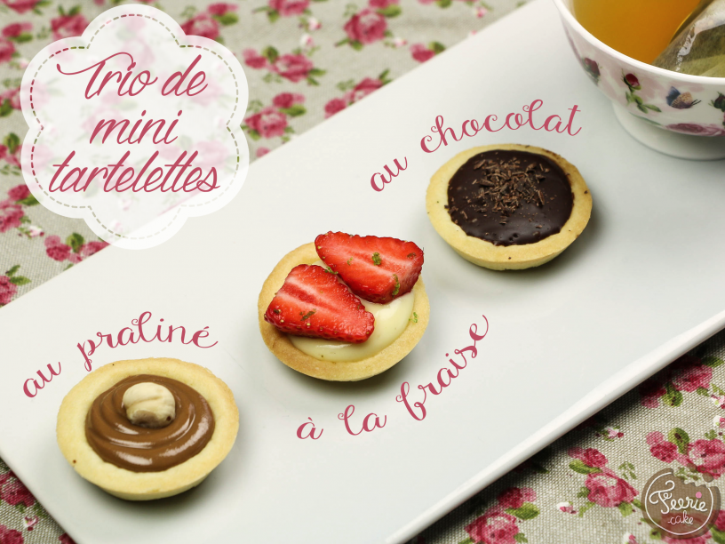 Triop de mini tartelettes