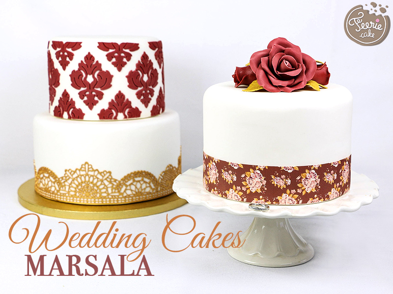 Wedding Cakes Marsala