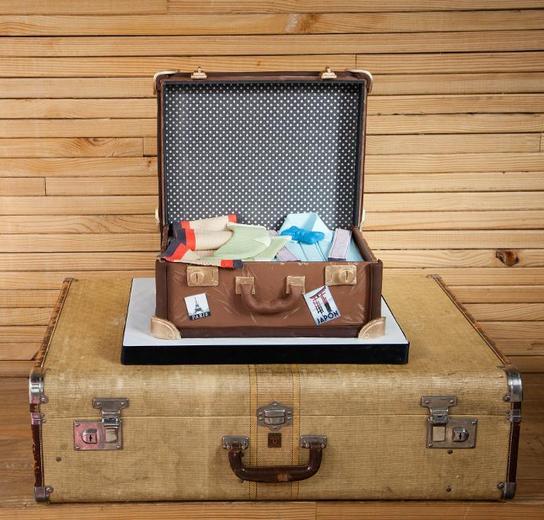 Luggage-Cake