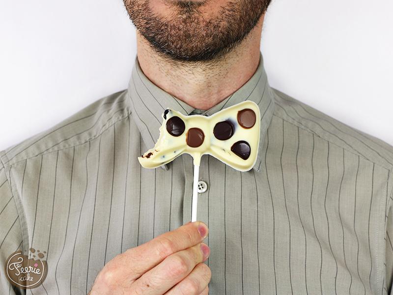 Titre sucette chocolat noeud pap 2