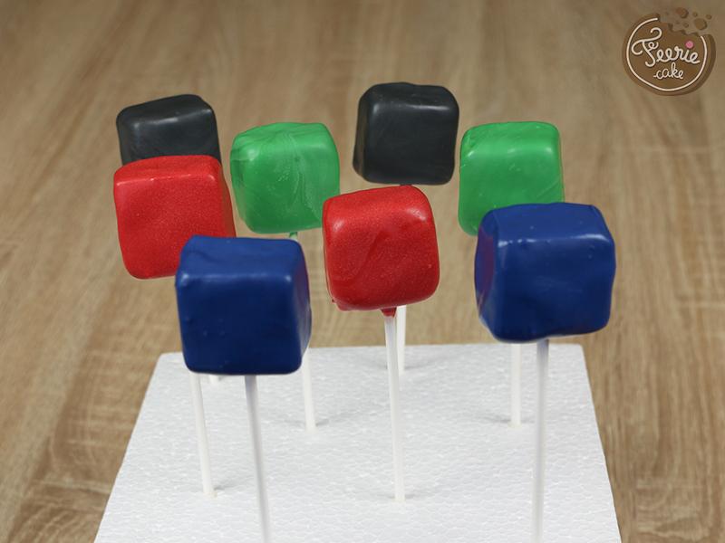 cake pops avengers 6
