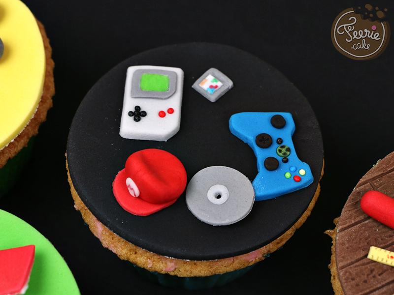 """Cupcakes toppers """"Mon père ce héros"""" 3"""