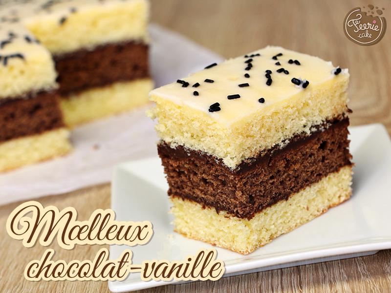 Moelleux chocolat-vanille